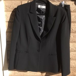 Tahari Black Suit- ASL Two Button